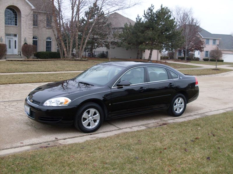 used 2007 chevrolet impala for sale by owner in plainfield. Black Bedroom Furniture Sets. Home Design Ideas