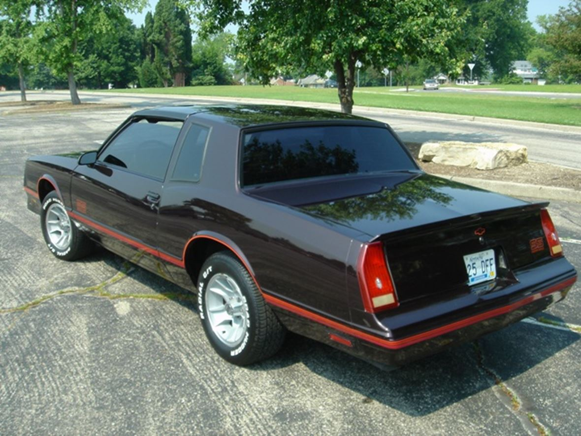 1987 chevrolet monte carlo ss classic car louisville ky 40299. Black Bedroom Furniture Sets. Home Design Ideas