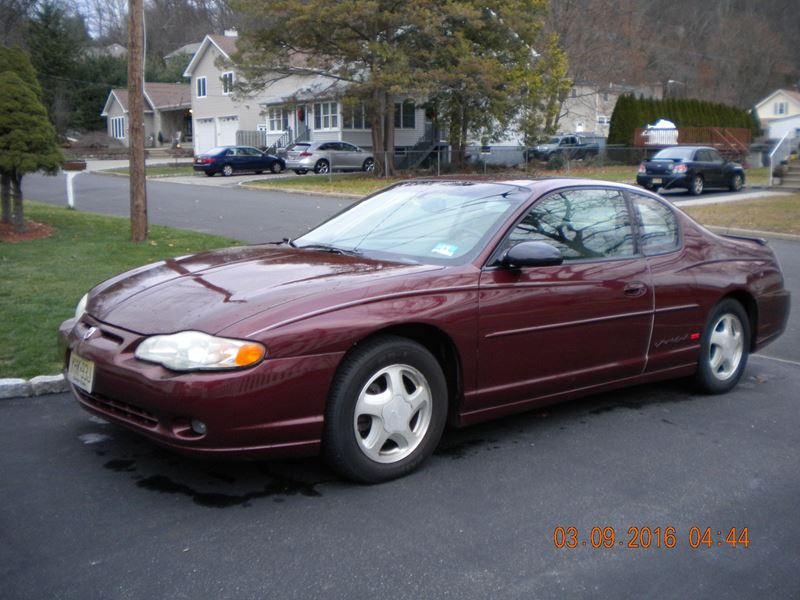 2001 chevrolet monte carlo ss sale by owner in. Black Bedroom Furniture Sets. Home Design Ideas