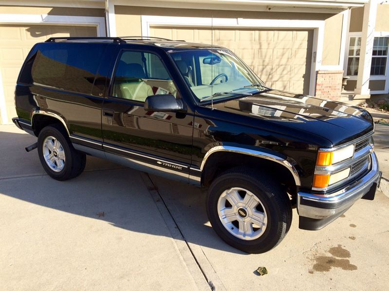 1999 Chevrolet Tahoe For Sale By Owner In Columbia Mo 65299
