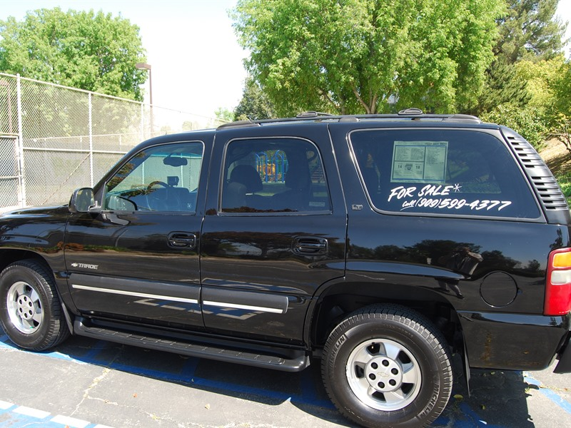 2002 chevrolet tahoe for sale by owner in san dimas ca 91773. Black Bedroom Furniture Sets. Home Design Ideas
