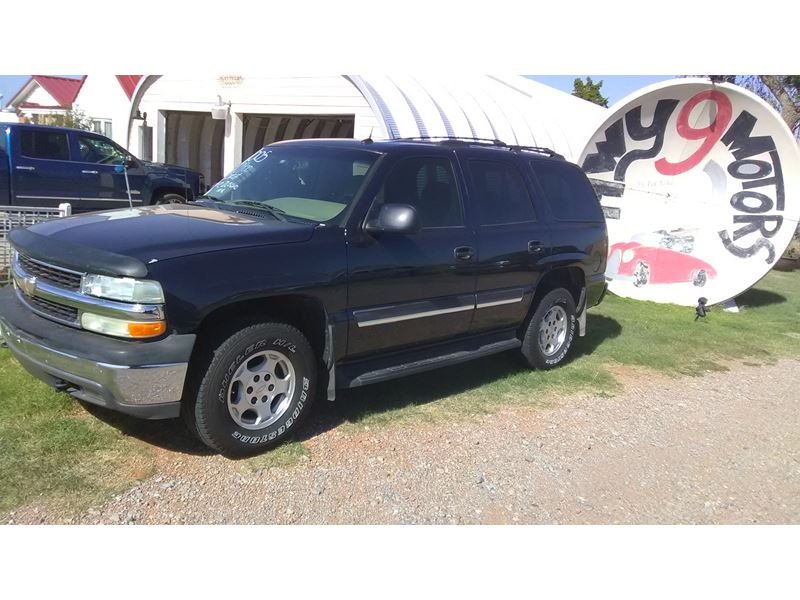 used 2005 chevrolet tahoe for sale by owner in hobart ok 73651. Cars Review. Best American Auto & Cars Review