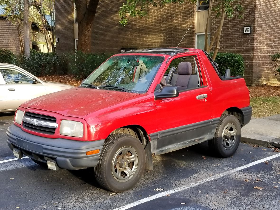 1999 Chevrolet Tracker for sale by owner in Charleston