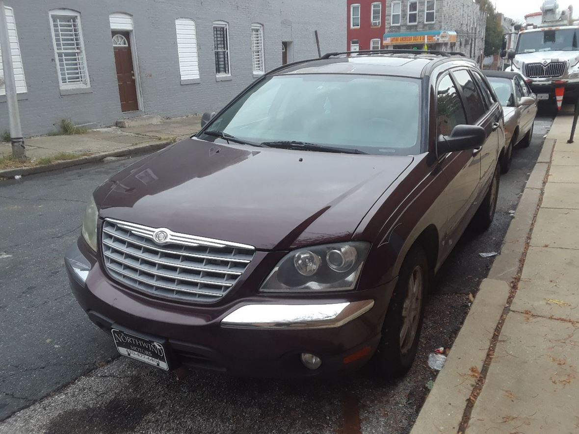 2004 chrysler pacifica for sale by owner in baltimore md 21223. Black Bedroom Furniture Sets. Home Design Ideas