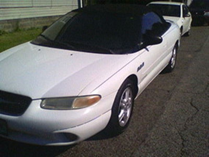 2000 chrysler sebring for sale by owner in louisville ky 40299. Black Bedroom Furniture Sets. Home Design Ideas