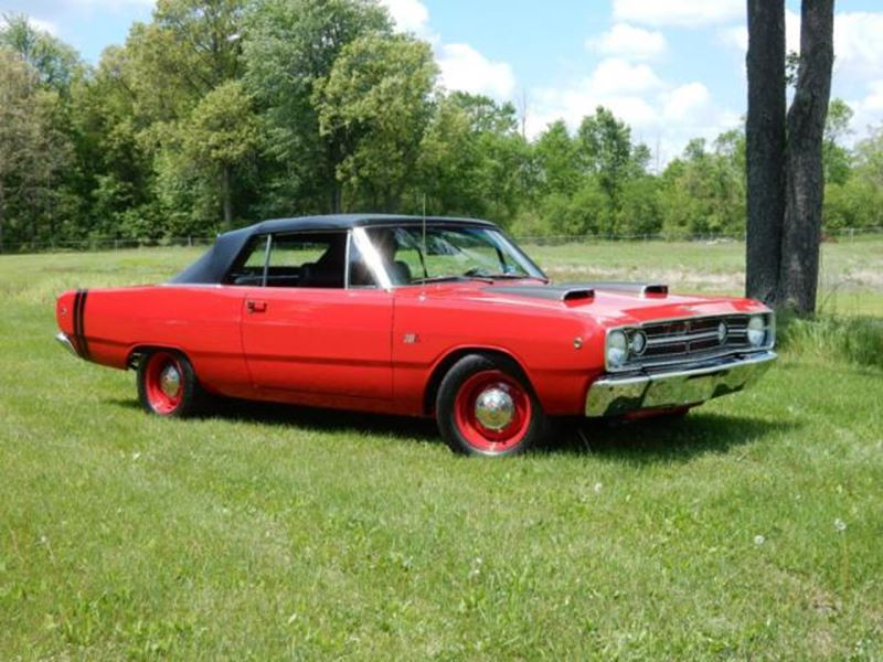 1968 dodge dart antique car iron mountain mi 49801. Black Bedroom Furniture Sets. Home Design Ideas