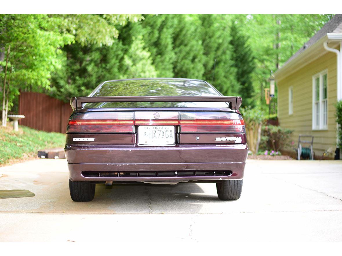 1989 dodge daytona classic car acworth ga 30102. Black Bedroom Furniture Sets. Home Design Ideas
