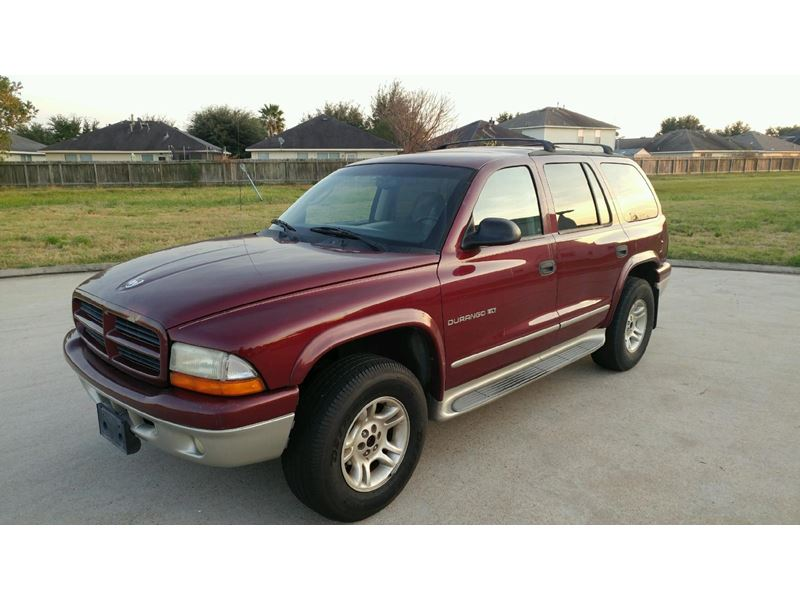 used 2001 dodge durango for sale by owner in katy tx 77491. Black Bedroom Furniture Sets. Home Design Ideas