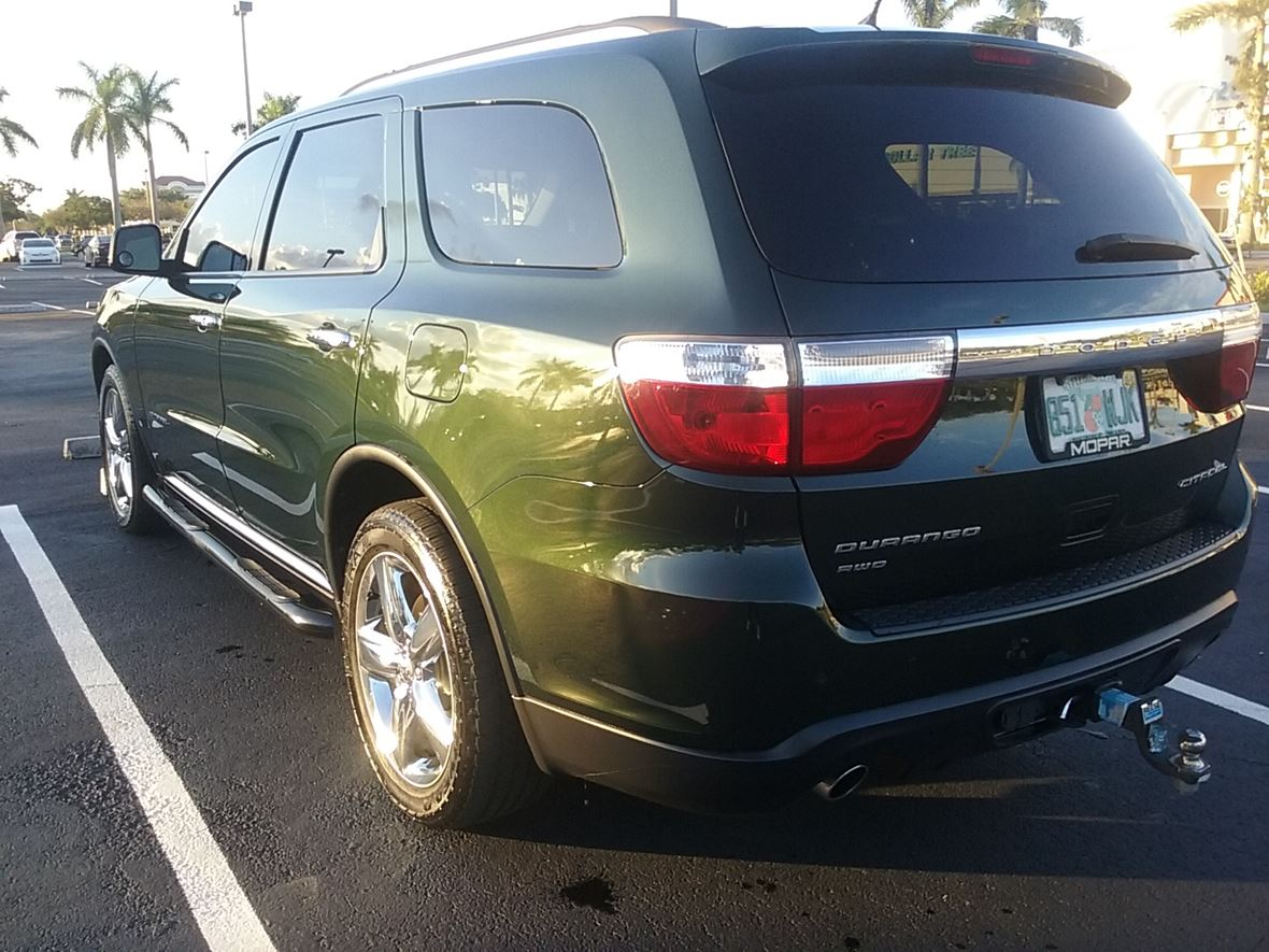 2011 dodge durango for sale by private owner in hollywood fl 33084. Black Bedroom Furniture Sets. Home Design Ideas