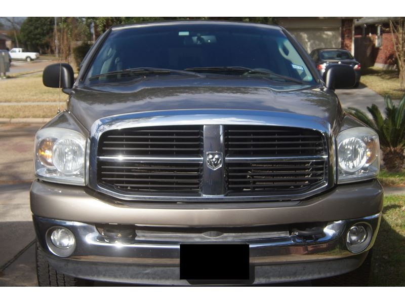 Used 2007 Dodge Ram 1500 For Sale By Owner In Houston Tx