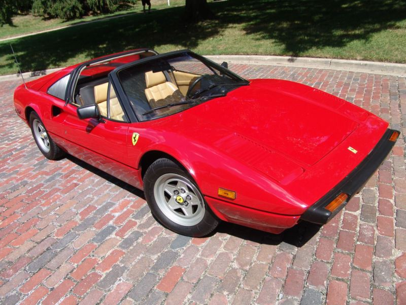 1982 ferrari 308 classic car ashland mo 65010. Black Bedroom Furniture Sets. Home Design Ideas