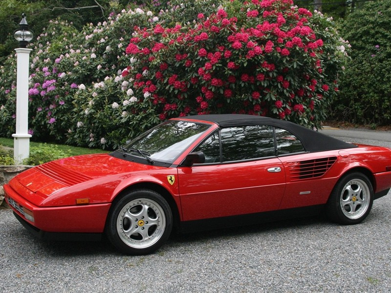 1986 ferrari mondial classic car buffalo ny 14276. Black Bedroom Furniture Sets. Home Design Ideas