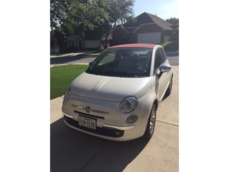 2012 fiat 500c for sale by owner in san antonio tx 78299. Black Bedroom Furniture Sets. Home Design Ideas