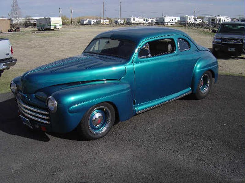 1946 ford 2 door coupe chopped classic car by owner for 1946 ford 2 door sedan