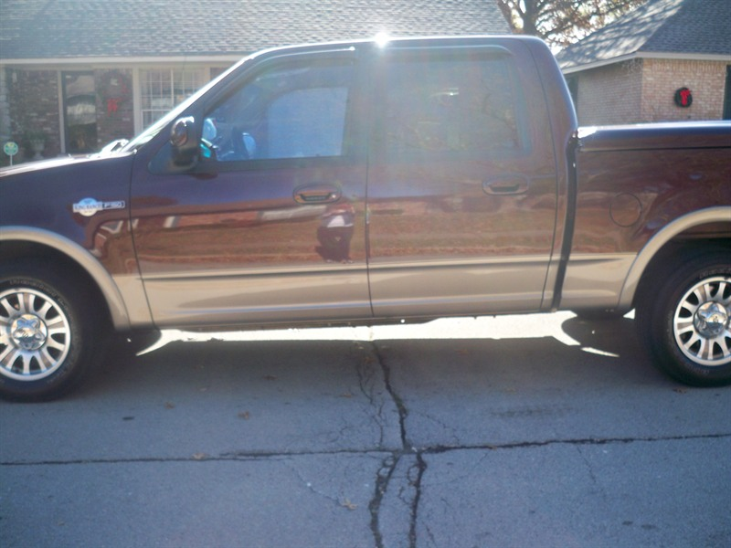2001 ford f150 king ranch for sale by owner in tulsa ok 74133. Black Bedroom Furniture Sets. Home Design Ideas