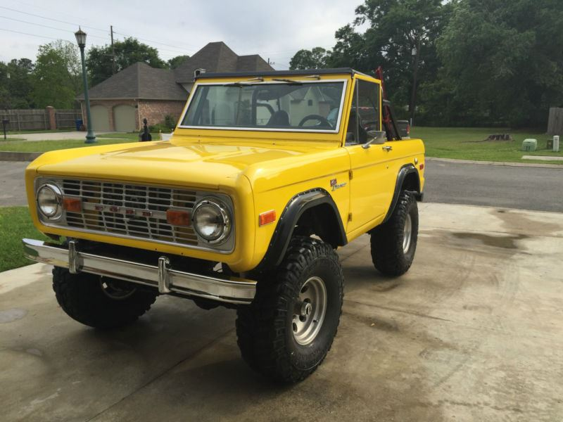 1972 ford bronco antique car haughton la 71037. Black Bedroom Furniture Sets. Home Design Ideas