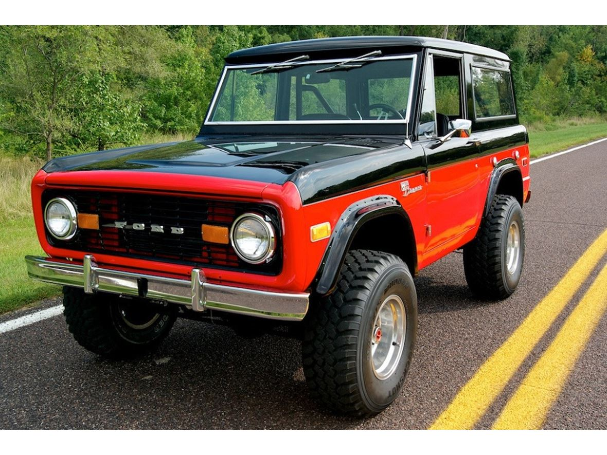 1972 ford bronco classic car sale by owner in hanford ca 93232. Black Bedroom Furniture Sets. Home Design Ideas