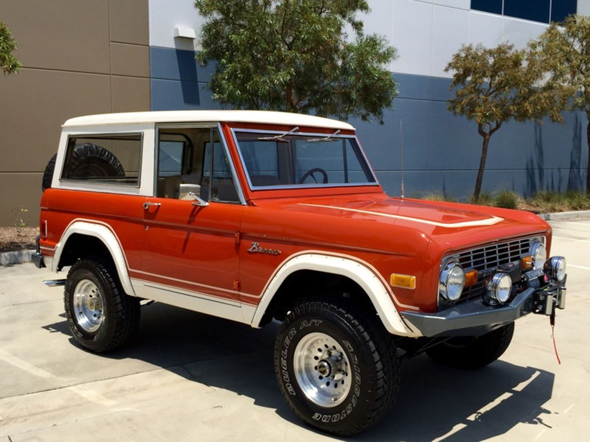 1974 ford bronco classic car san diego ca 92199. Black Bedroom Furniture Sets. Home Design Ideas