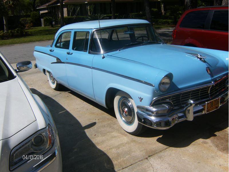 1956 ford customline antique car charleston sc 29492. Black Bedroom Furniture Sets. Home Design Ideas