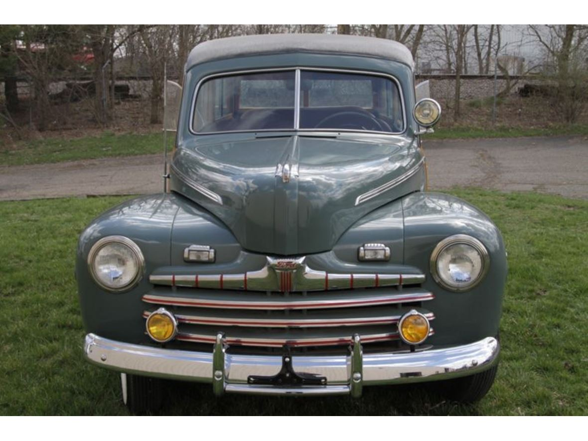 1946 ford deluxe classic car by owner in lowellville oh 44436. Black Bedroom Furniture Sets. Home Design Ideas