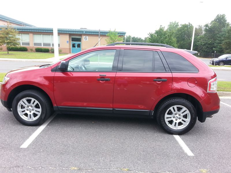 used 2007 ford edge for sale by owner in centreville va 20120. Black Bedroom Furniture Sets. Home Design Ideas