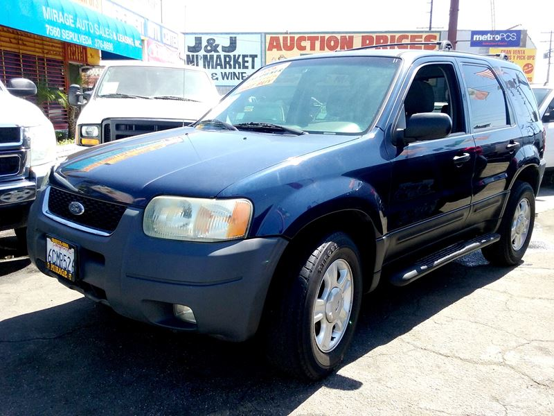2003 ford escape for sale by owner in los angeles ca 90103. Black Bedroom Furniture Sets. Home Design Ideas