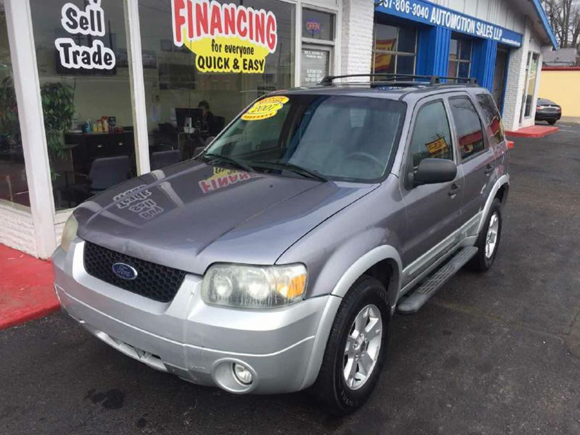 2007 ford escape for sale by owner in franklin oh. Cars Review. Best American Auto & Cars Review