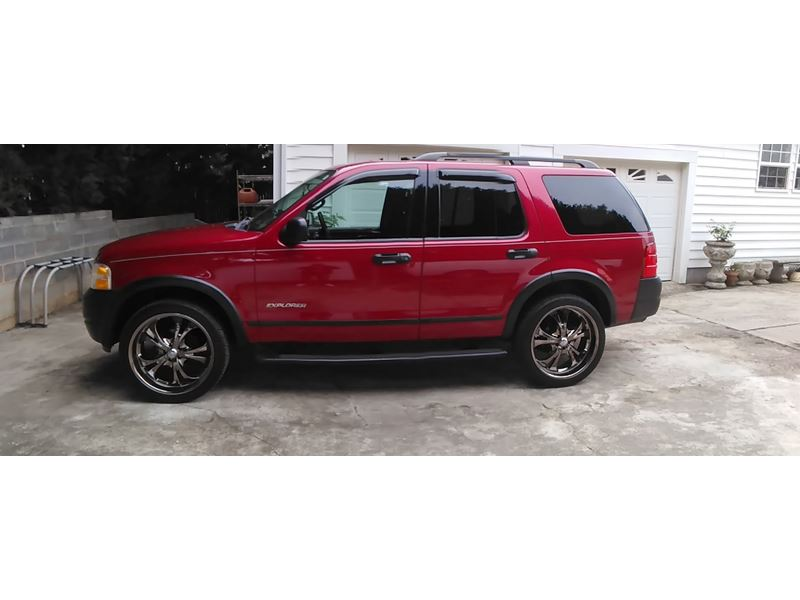 2004 ford explorer for sale by owner in mooresville nc 28117. Black Bedroom Furniture Sets. Home Design Ideas