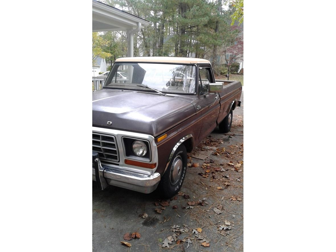 1978 Ford F-150 Custom for sale by owner in Raleigh