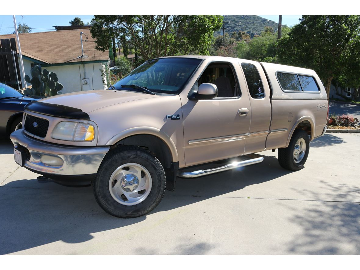 1997 ford f 150 supercrew for sale by owner in el cajon ca 92090. Black Bedroom Furniture Sets. Home Design Ideas