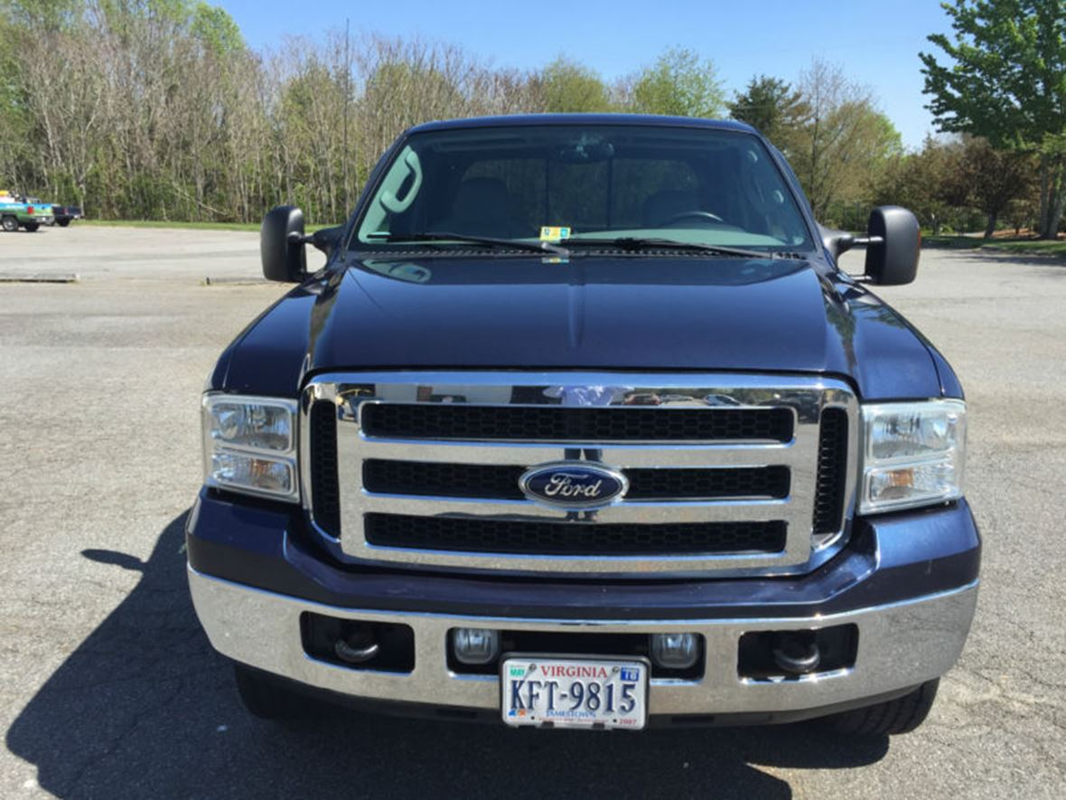 2005 ford f 250 for sale by owner in wallops island va 23337. Black Bedroom Furniture Sets. Home Design Ideas