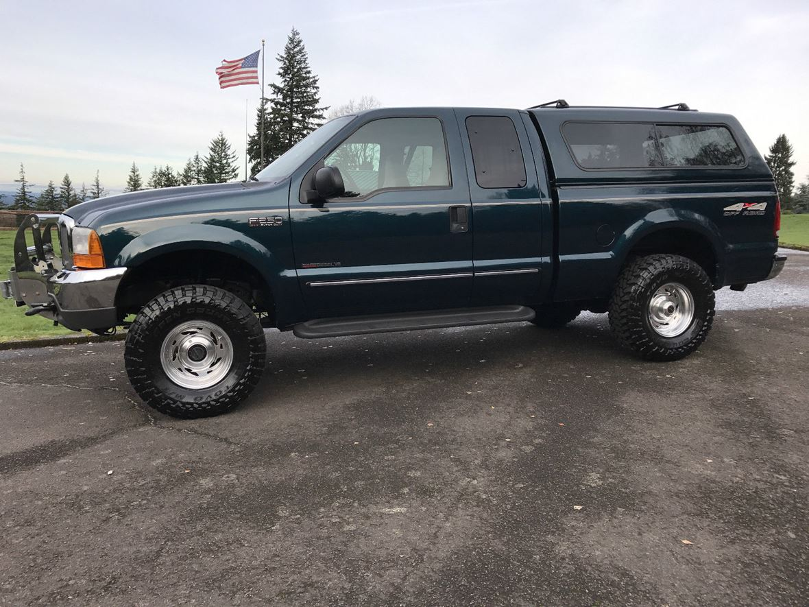 1999 ford f 250 xlt for sale by private owner in portland or 97215. Black Bedroom Furniture Sets. Home Design Ideas