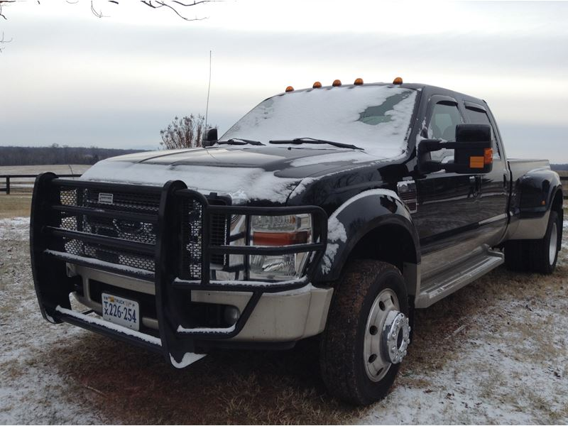 2008 ford f 450 super duty king ranch by owner in. Black Bedroom Furniture Sets. Home Design Ideas
