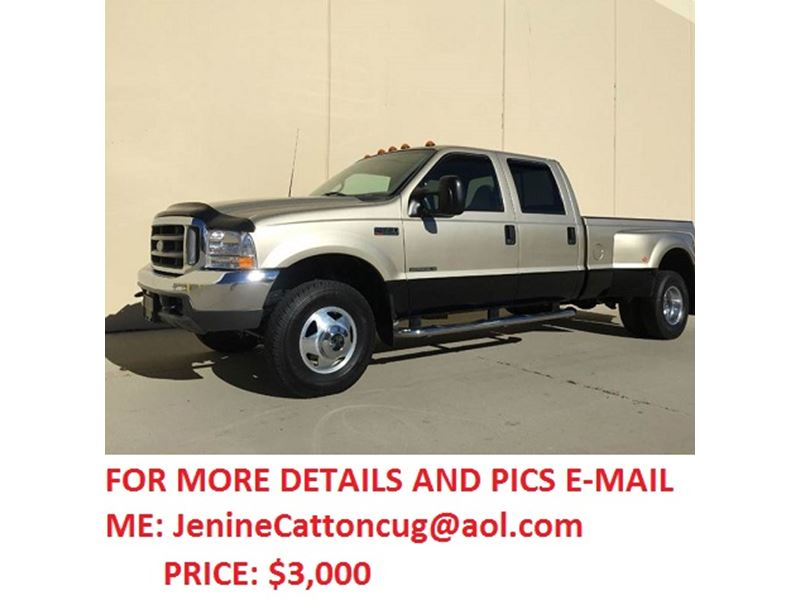 2001 ford f350 private car sale in salt lake city ut 84104. Black Bedroom Furniture Sets. Home Design Ideas