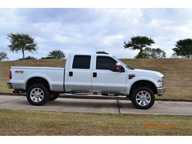 2008 ford f350 lariat 4x4 for sale by owner in missouri city tx 77489. Black Bedroom Furniture Sets. Home Design Ideas