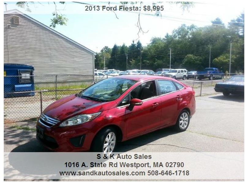 2013 ford fiesta for sale by owner in westport ma 02790. Black Bedroom Furniture Sets. Home Design Ideas