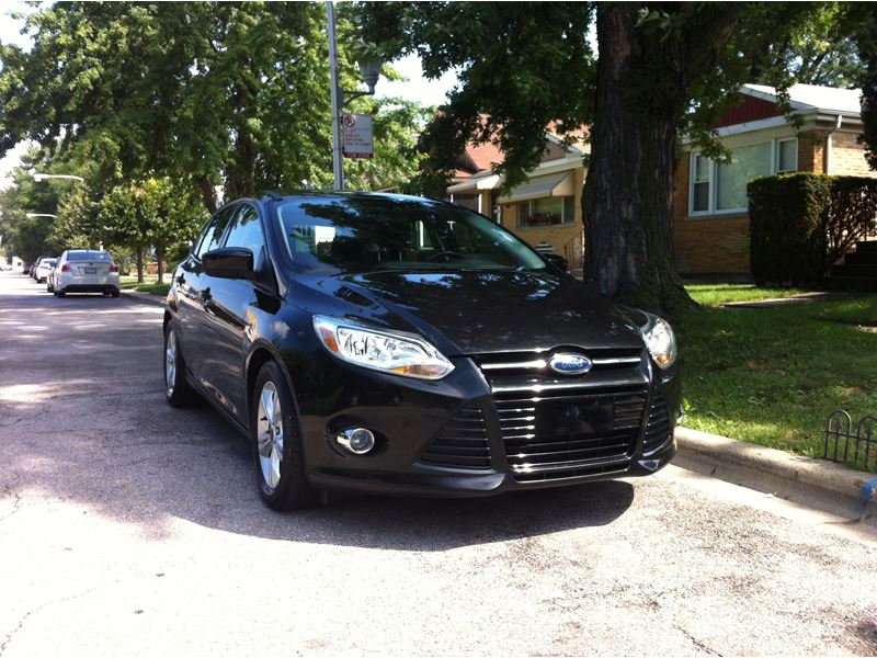 2012 ford focus for sale by owner in chicago il 60701. Black Bedroom Furniture Sets. Home Design Ideas