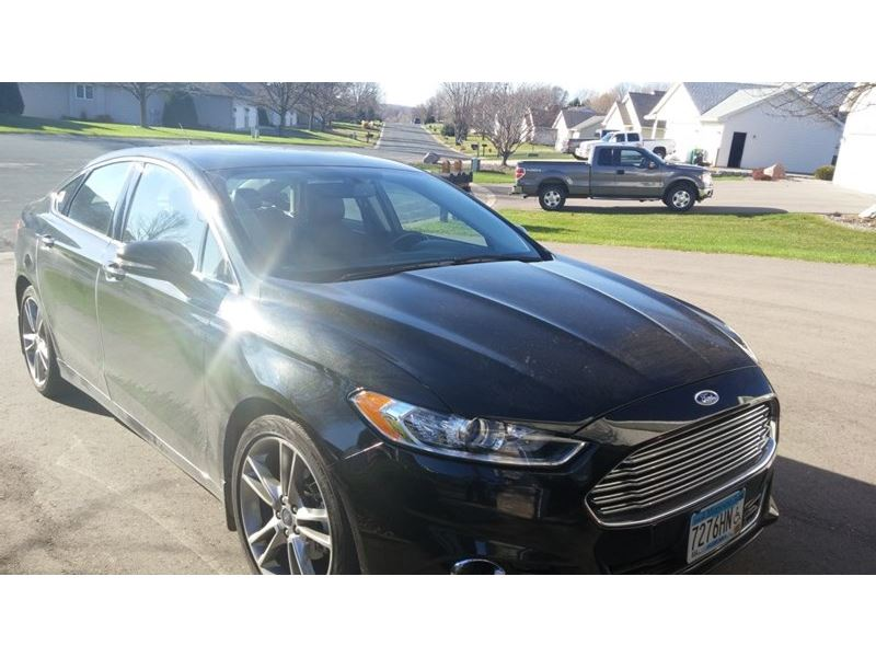 used 2014 ford fusion for sale by owner in buffalo mn 55313. Black Bedroom Furniture Sets. Home Design Ideas