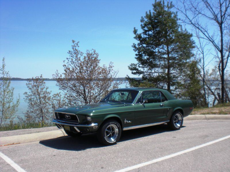 1968 ford mustang classic car for sale by owner in traverse city mi 49686. Black Bedroom Furniture Sets. Home Design Ideas