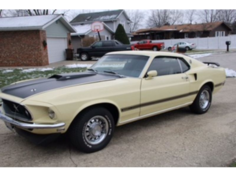 1969 ford mustang antique car manteno il 60950. Black Bedroom Furniture Sets. Home Design Ideas