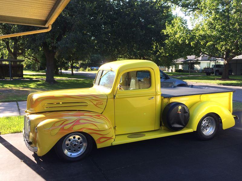 1946 ford pickup truck antique car baytown tx 77521. Black Bedroom Furniture Sets. Home Design Ideas