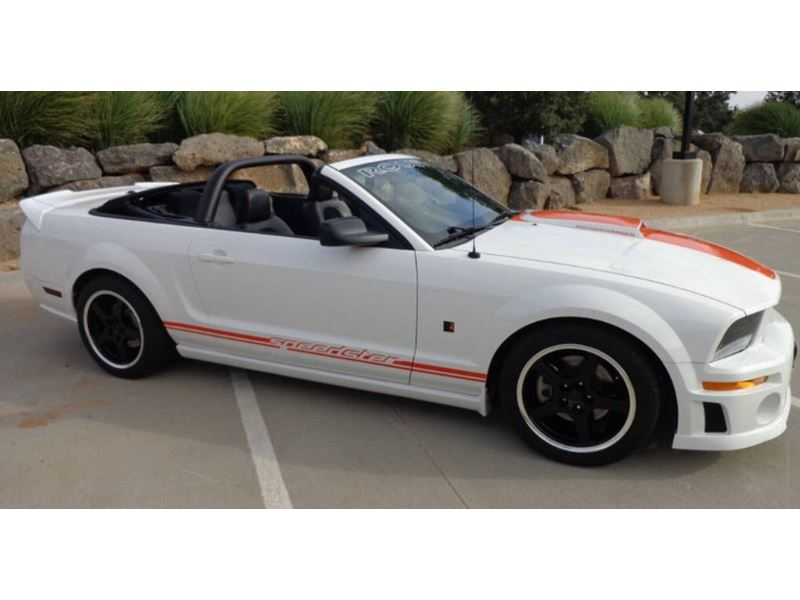 Cars For Sale By Owner Amarillo Tx: 2008 Ford Roush Speedster For Sale By Owner In Amarillo
