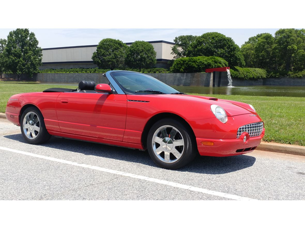 2002 Ford Thunderbird for sale by owner in Spartanburg