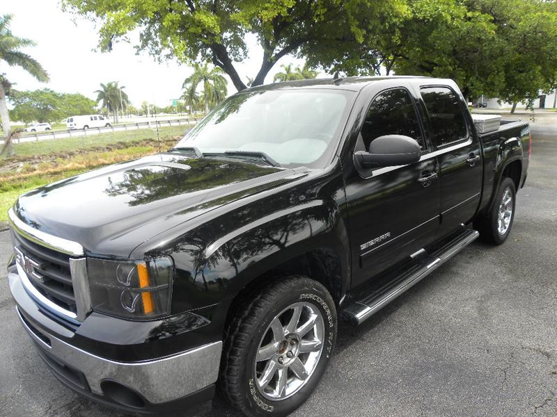 2012 gmc sierra 1500 for sale by owner in pompano beach fl 33069. Black Bedroom Furniture Sets. Home Design Ideas