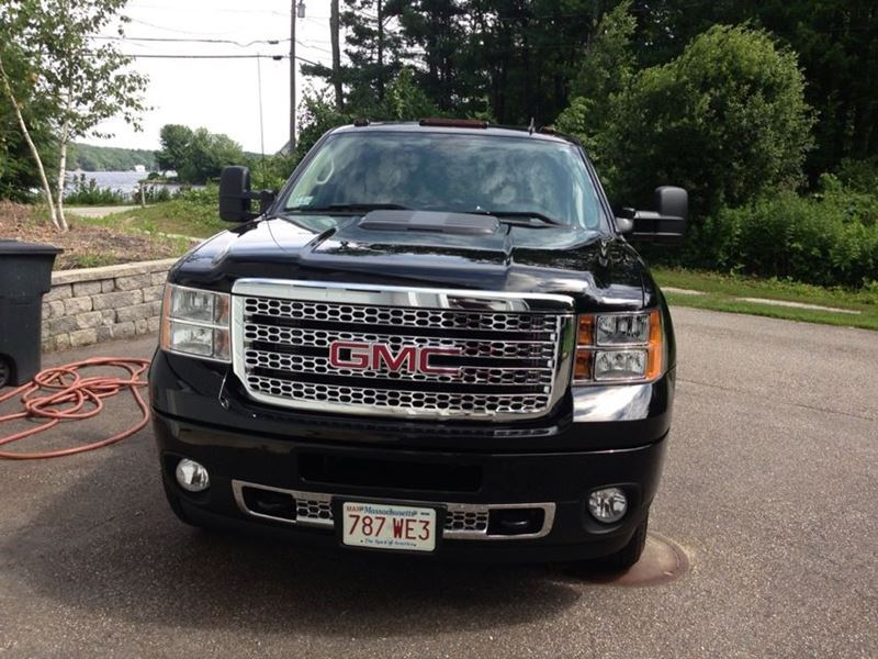 2013 gmc sierra 2500hd for sale by owner in hubbardston ma 01452. Black Bedroom Furniture Sets. Home Design Ideas
