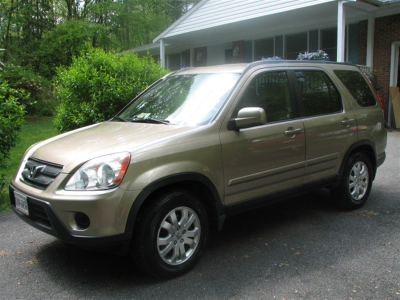 2006 honda crv se for sale by owner in manassas va 20111. Black Bedroom Furniture Sets. Home Design Ideas