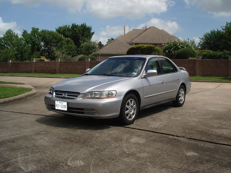 2002 honda accord for sale by owner in houston tx 77299. Black Bedroom Furniture Sets. Home Design Ideas