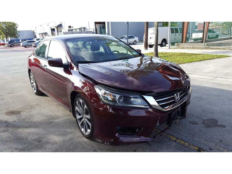 used 2015 honda accord for sale by owner in hialeah fl 33018. Black Bedroom Furniture Sets. Home Design Ideas