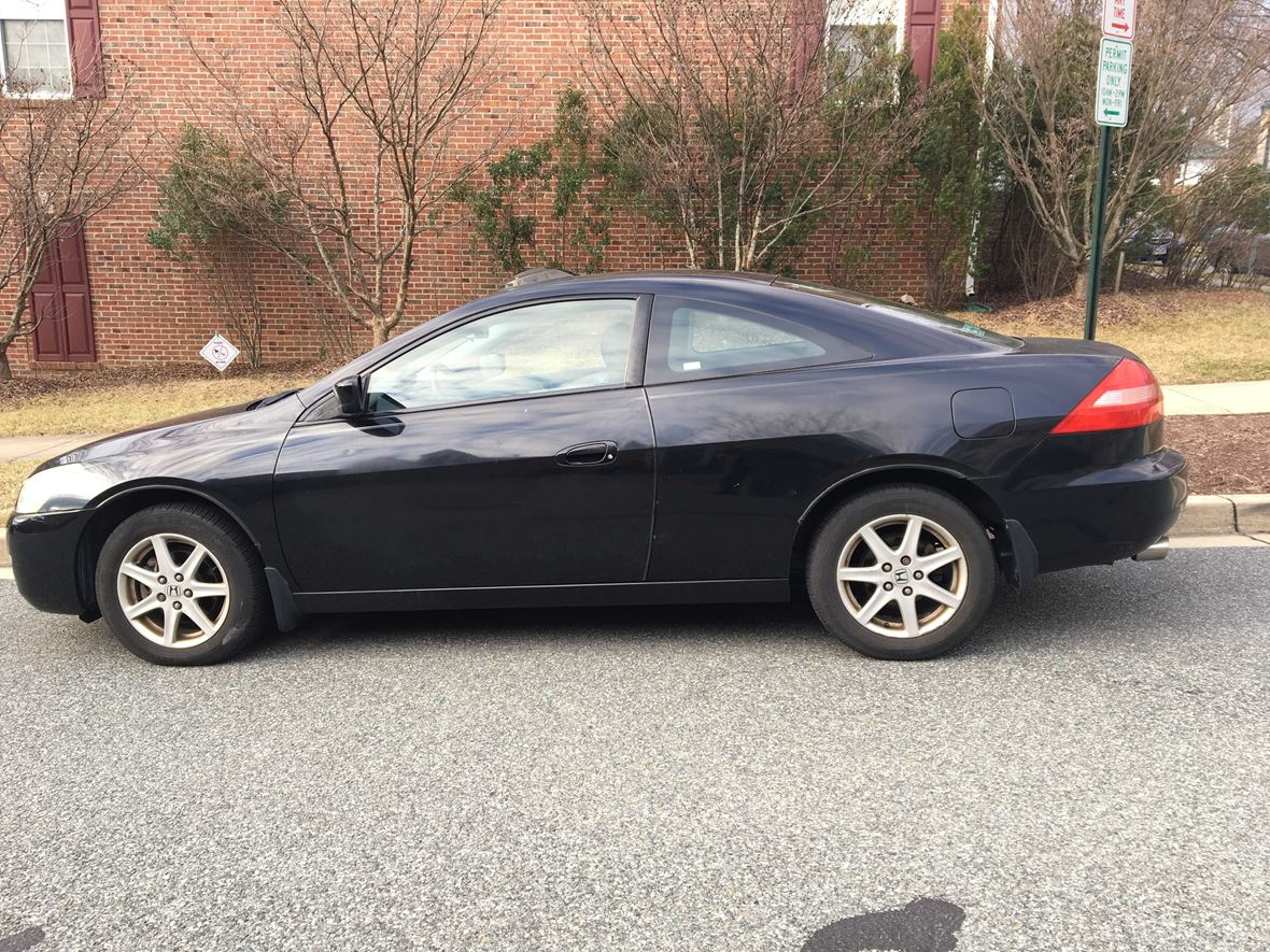 2003 honda accord coupe for sale by owner in rockville md 20852. Black Bedroom Furniture Sets. Home Design Ideas