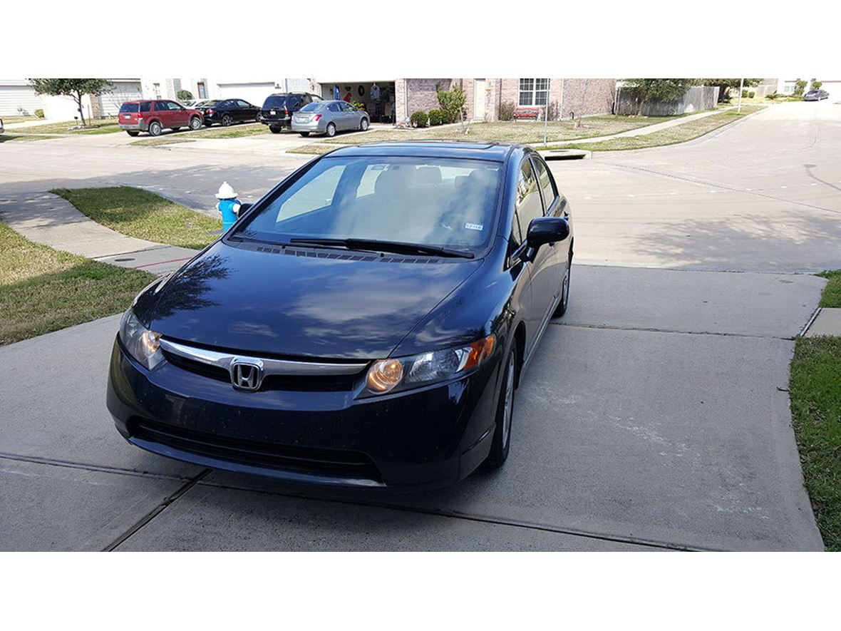 used 2007 honda civic for sale by owner in houston tx 77019. Black Bedroom Furniture Sets. Home Design Ideas